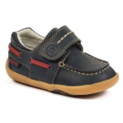 Grip 'n' Go - Norm Navy Boat Shoe ¿