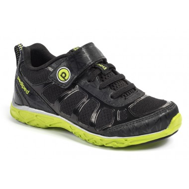 Flex - Scout Black Lime Athletic Shoe