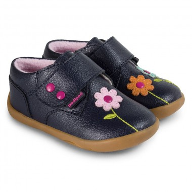 Grip 'n' Go - Aryanna Navy Shoe
