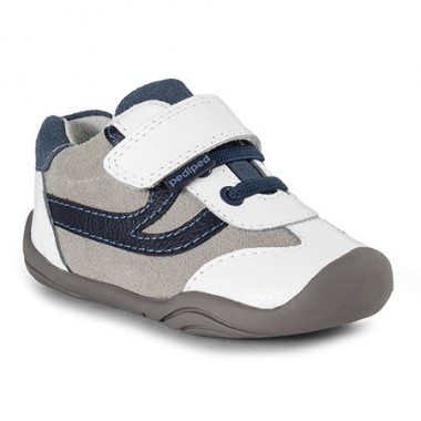 Grip 'n' Go - Cliff White Navy Shoe