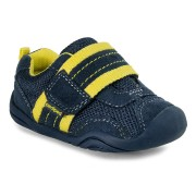 Grip 'n' Go - Adrian Navy Yellow Sneaker