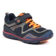 Flex - Force Navy Orange Athletic Shoe ᵜ