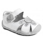 Grip 'n' Go - Daisy White Silver Sandal ◊