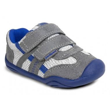 Grip 'n' Go - Gehrig Mid Grey Blue Sneaker ¿