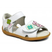 Grip 'n' Go - Leana White Multi Sandal ᵜ