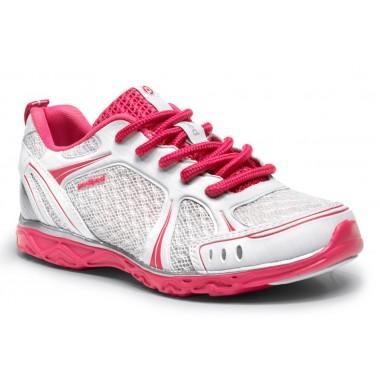 Flex - Astara Lace Up White Athletic Shoe