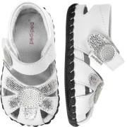 Originals - Daisy White Silver Sandal ᵜ