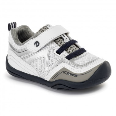 Grip 'n' Go - Force White Navy Sneaker ◊