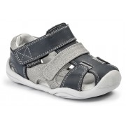 Grip 'n' Go - Joshua Navy Grey Sandal