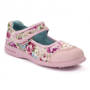 Flex - Bree Pink Floral Mary Jane