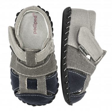 Originals - Harvey Grey Navy Sandal