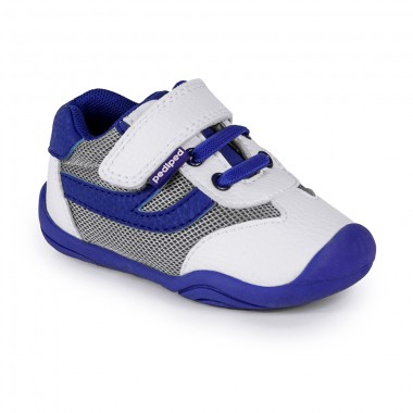 Grip 'n' Go - Cliff White Blue Shoe «