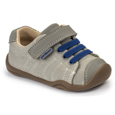 Grip 'n' Go - Jake Light Grey Blue Shoe «