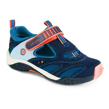 Flex - Stingray Blue Orange Adventure Sandal