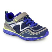 Flex - Force Blue Silver Athletic Shoe
