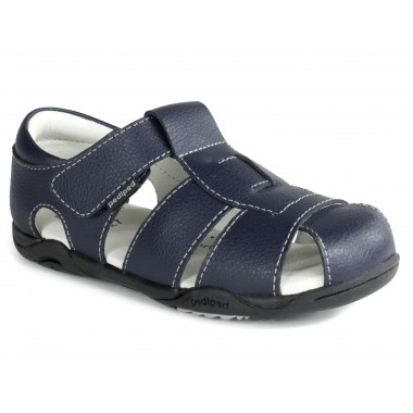 Flex - Sydney Navy Leather Sandal